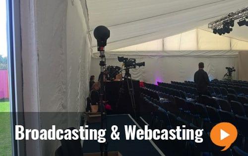 Broadcast & Webcast