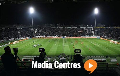Media Centres broadcast webcast
